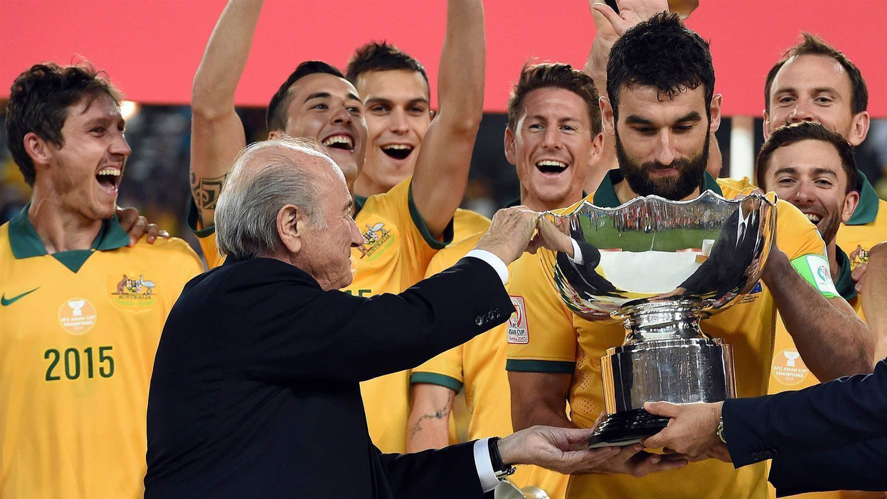 The Socceroos are overweight - Blatter
