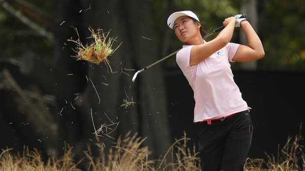 WOMEN'S OPEN: Su Oh charges into contention