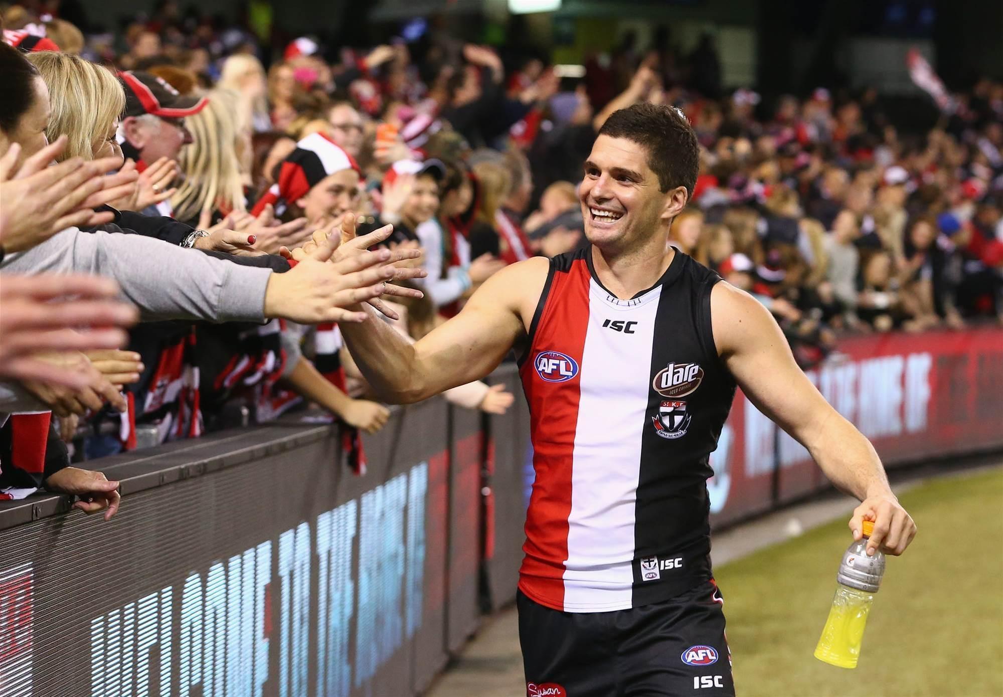 Saints champion retires