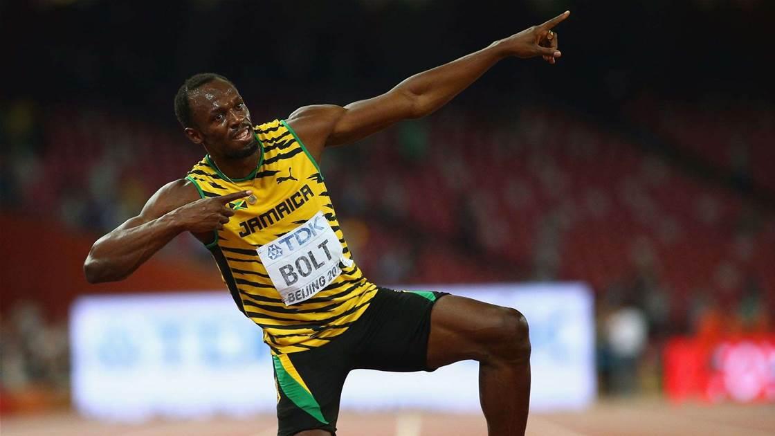 Truly magnificent: Bolt wins 200m
