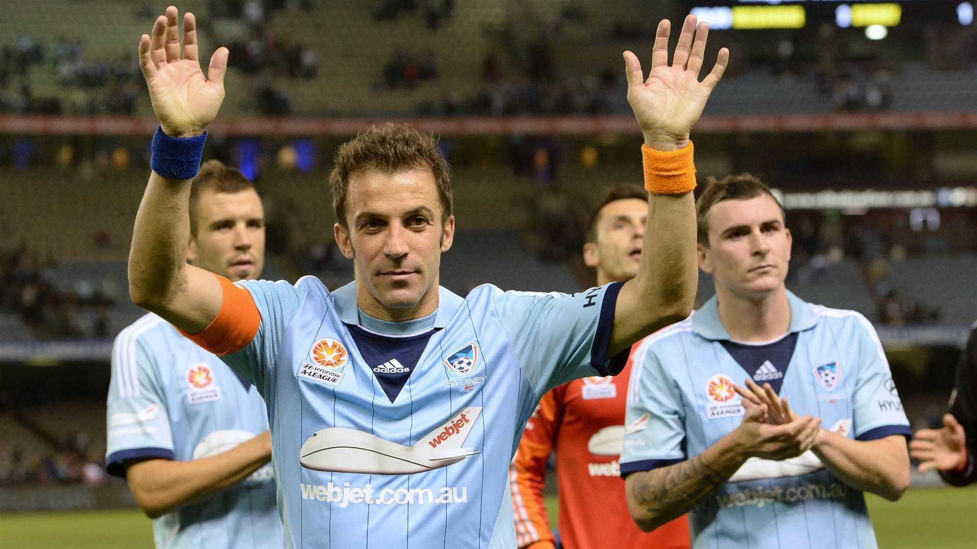 Del Piero's inspirational message to Sydney FC