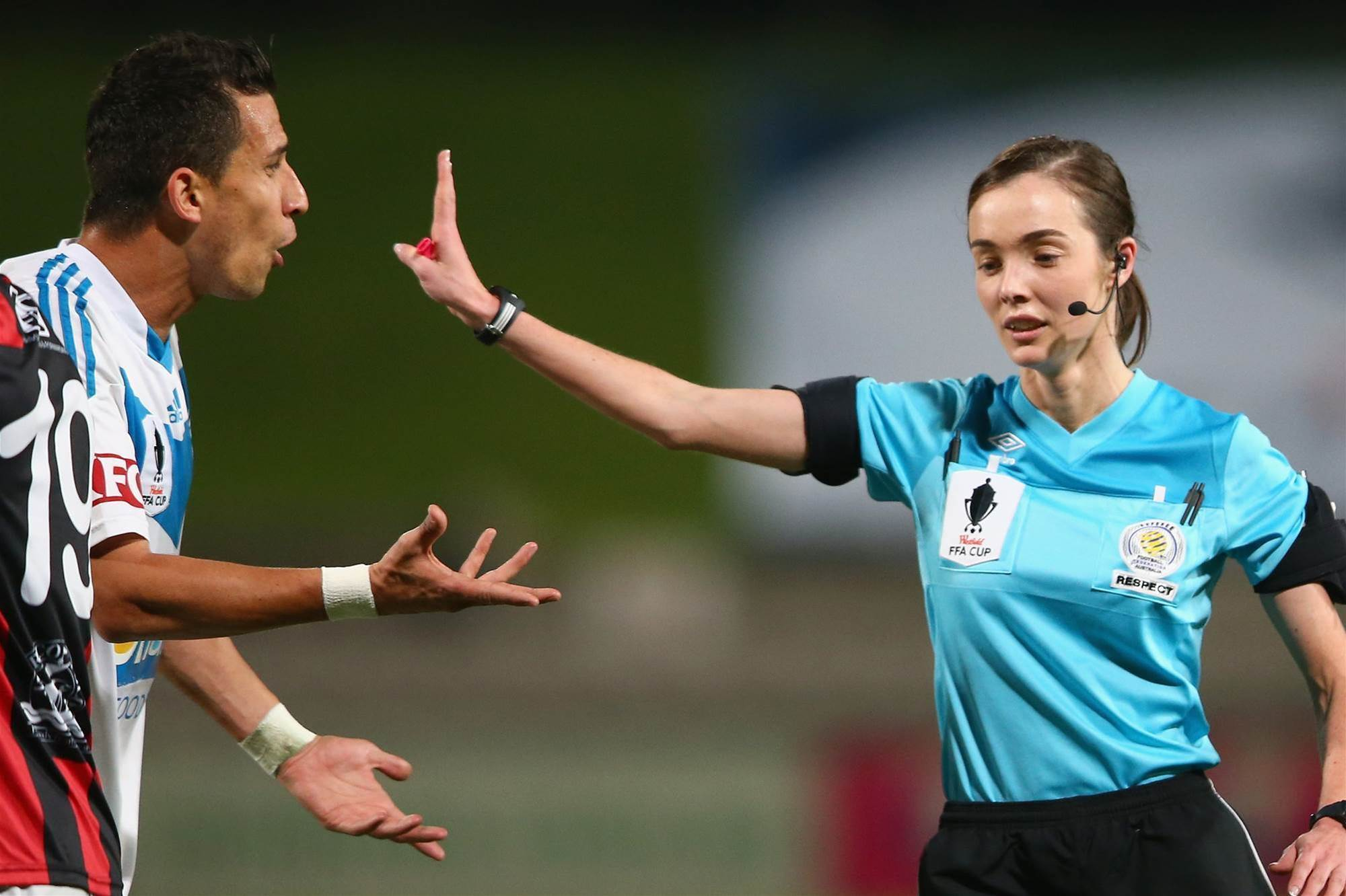 Patterson edges closer to A-League referee berth