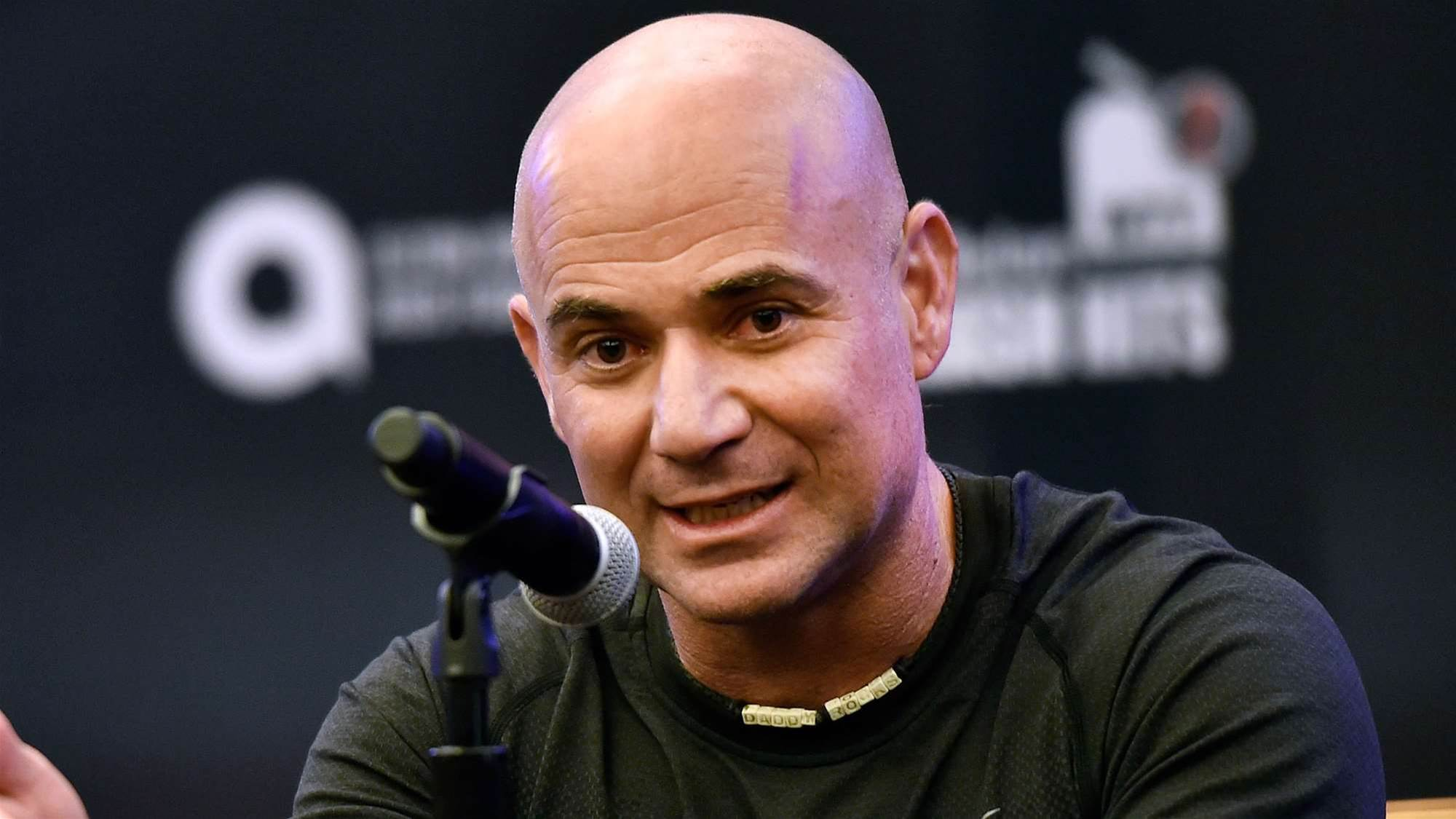 Agassi: Kygrios knows why he's rebelling
