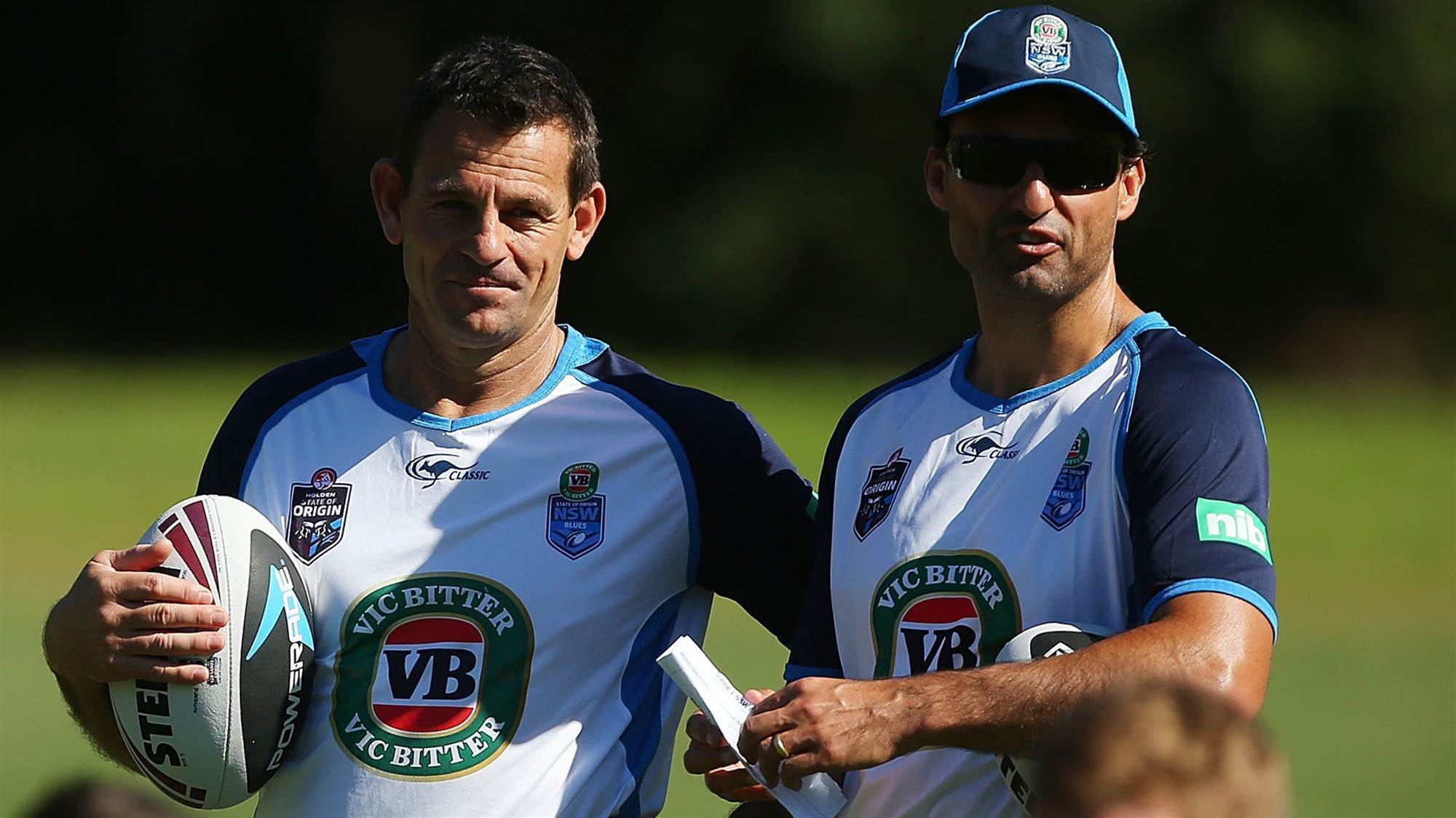 Blues coach hit with AVO