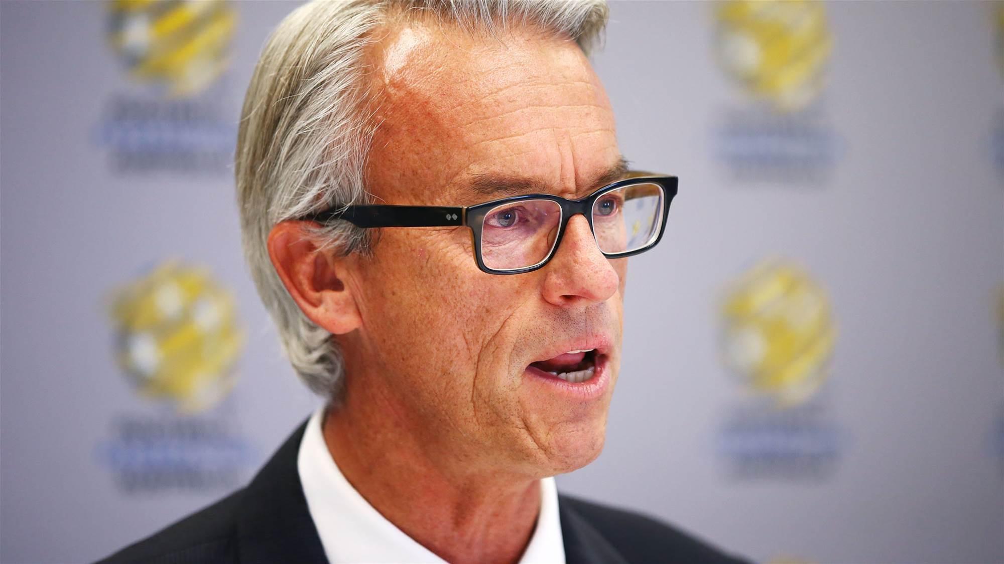 FFA say no expansion before 2018-19