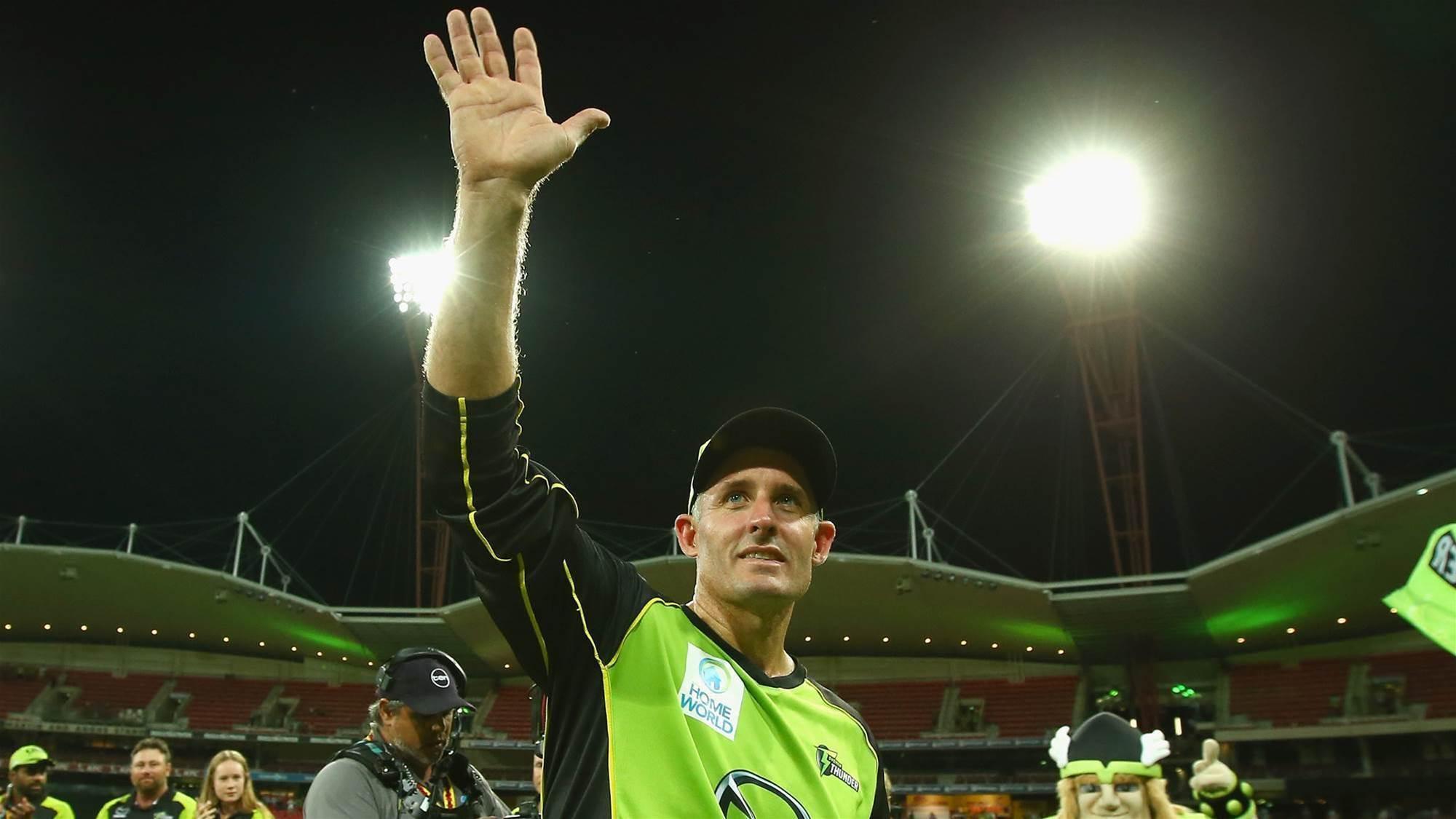 Hussey puts hand up to coach Australia