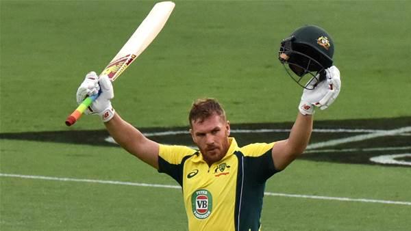 Finch says BBL form led to ODI recall