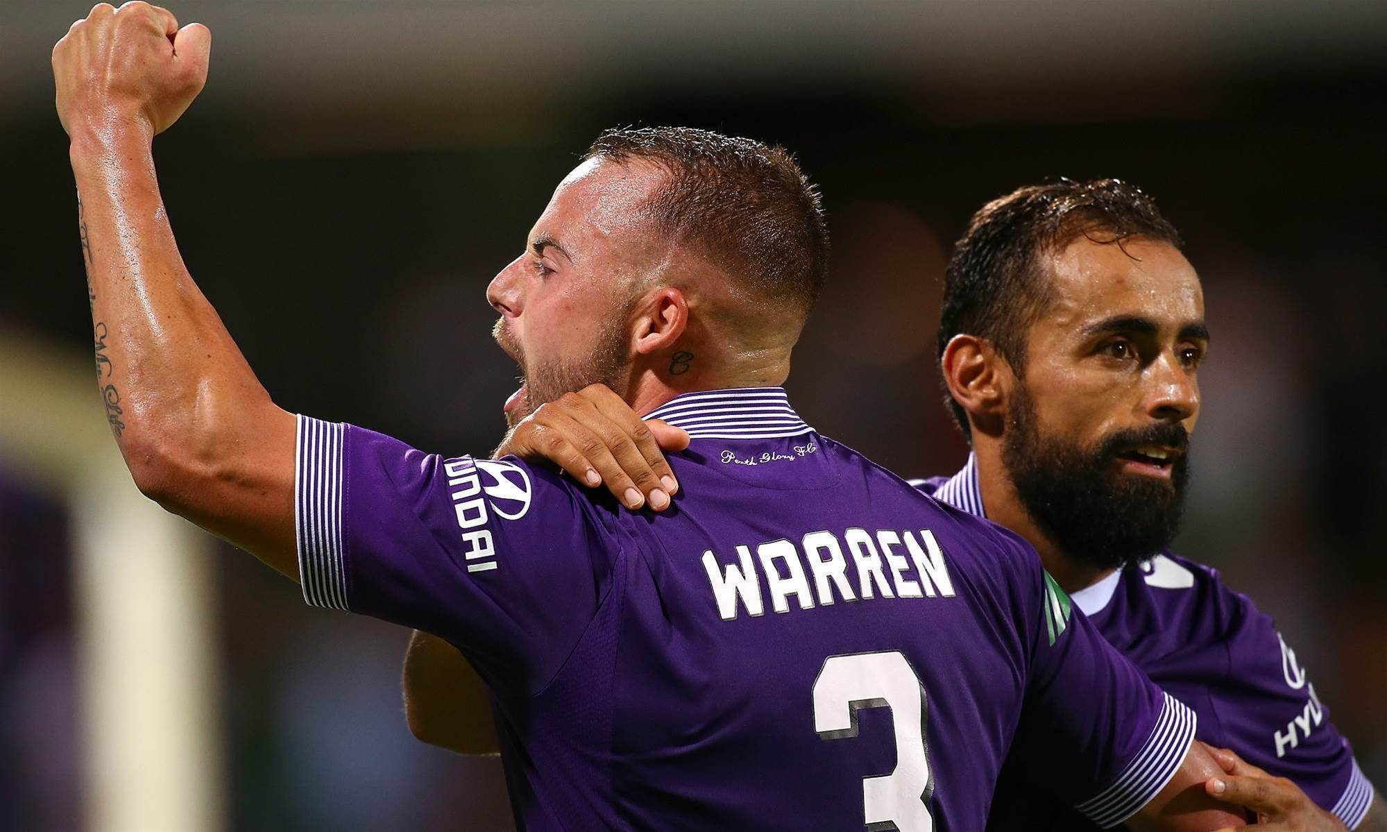 Warren pens new Glory deal