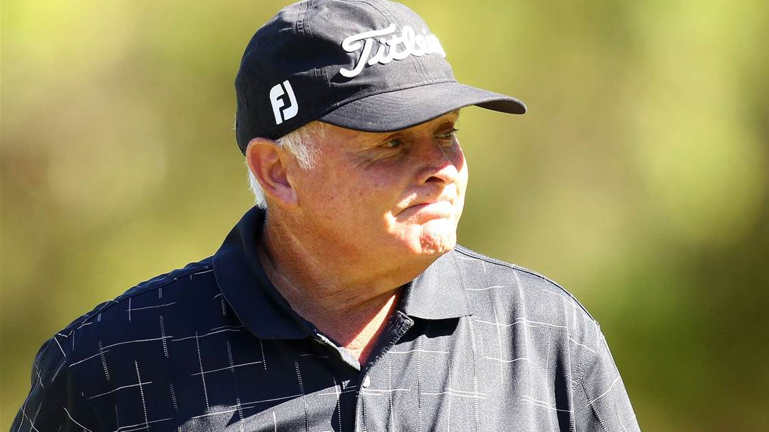 "Peter Senior quits: ""I'm not playing golf any more"""