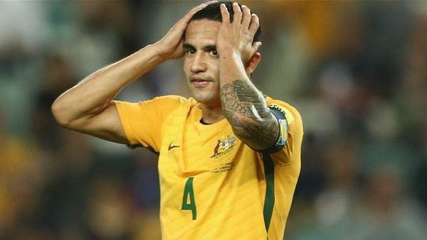 Cahill: I don't think about the negatives