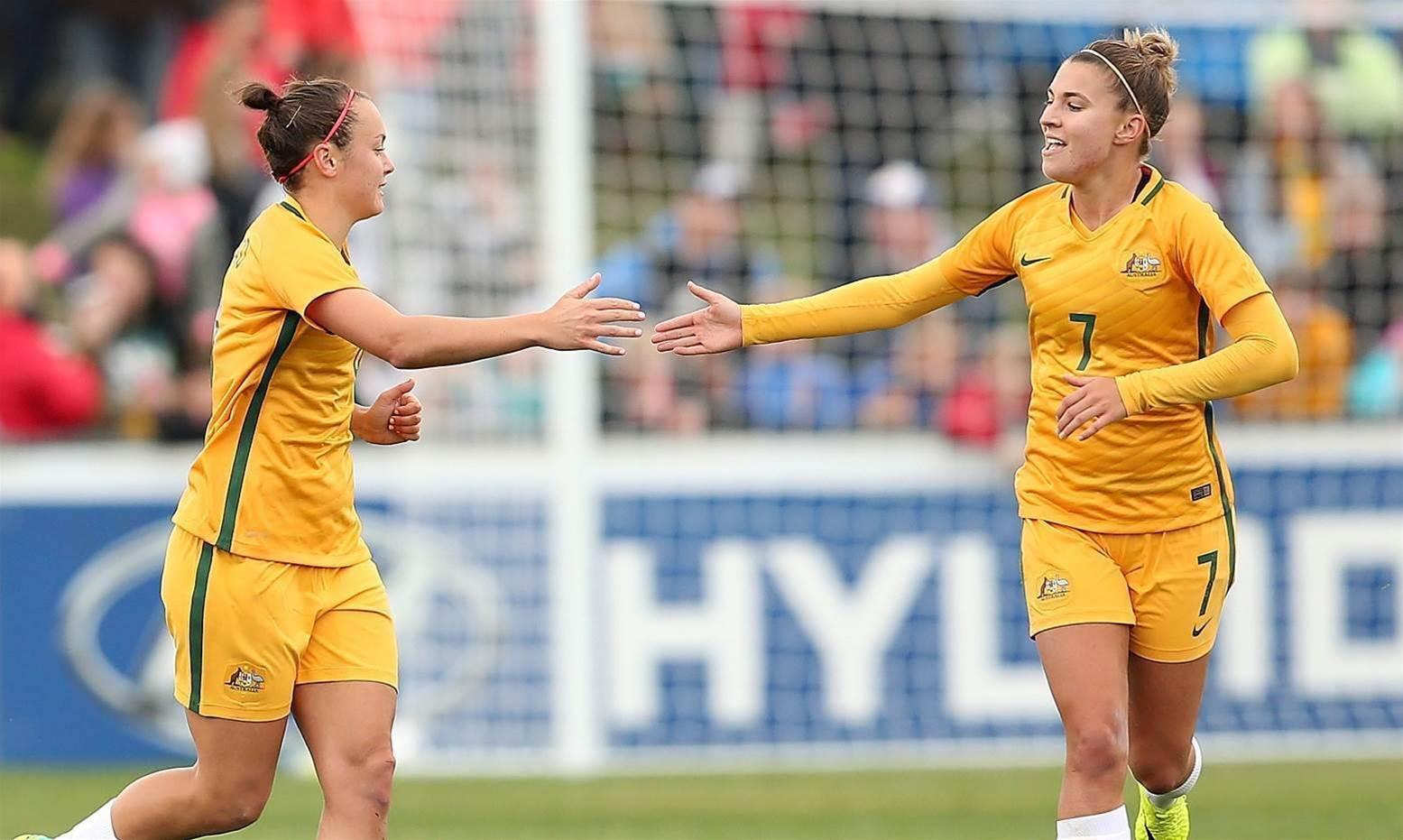 Catley: I'd fear our Matildas attack