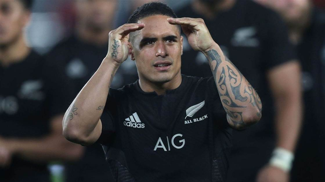 All Black speaks following toilet romp