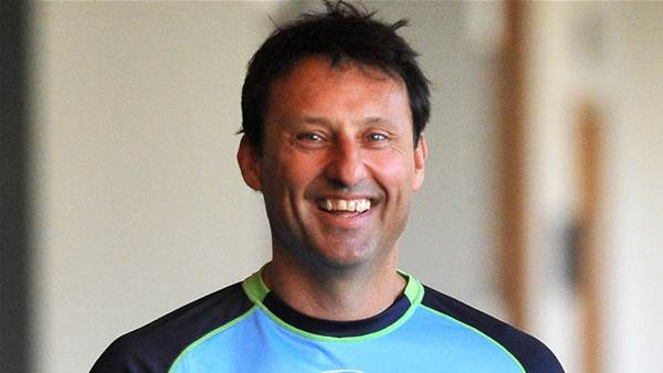Guess why Laurie Daley's so happy?