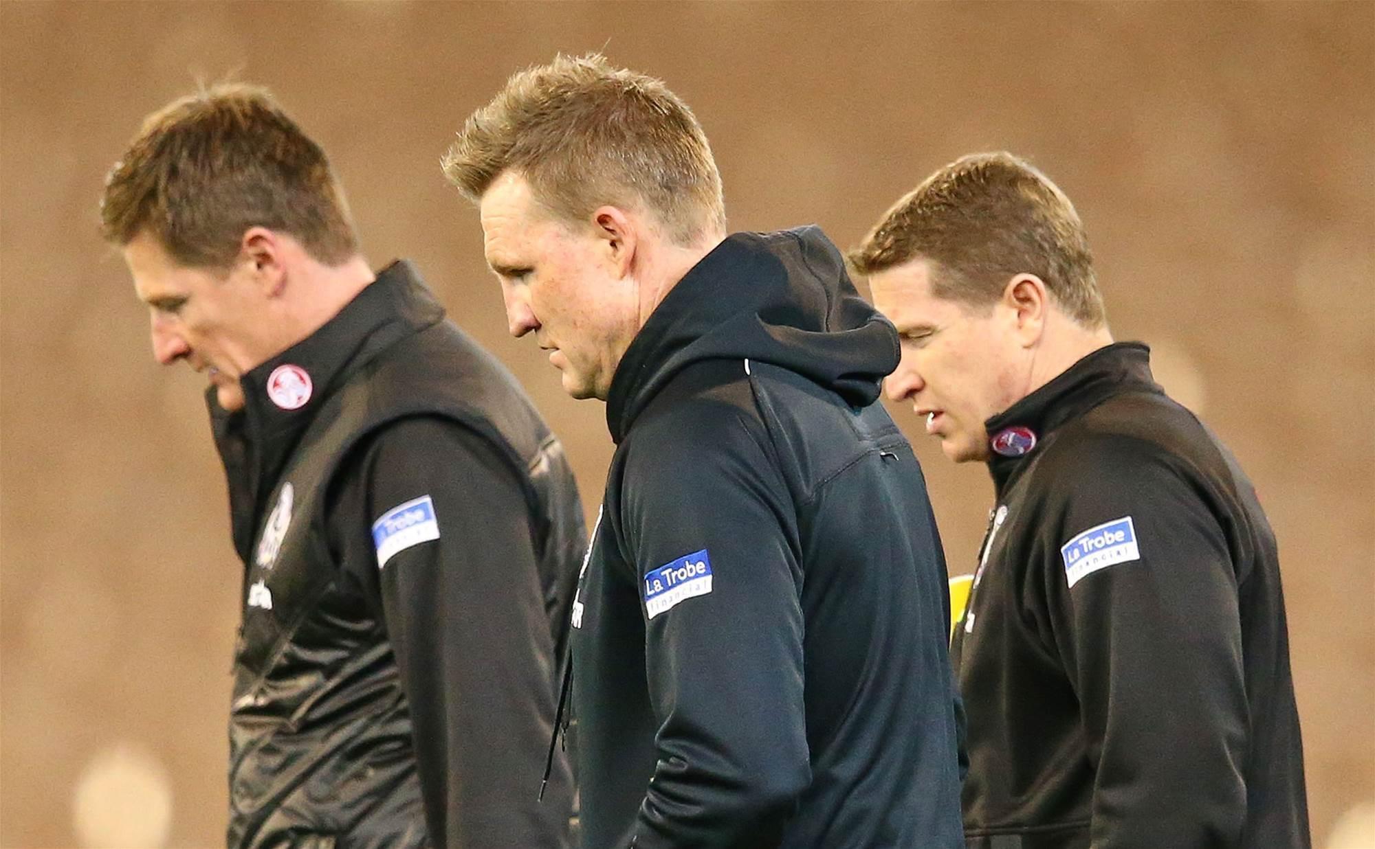 Collingwood coach departs