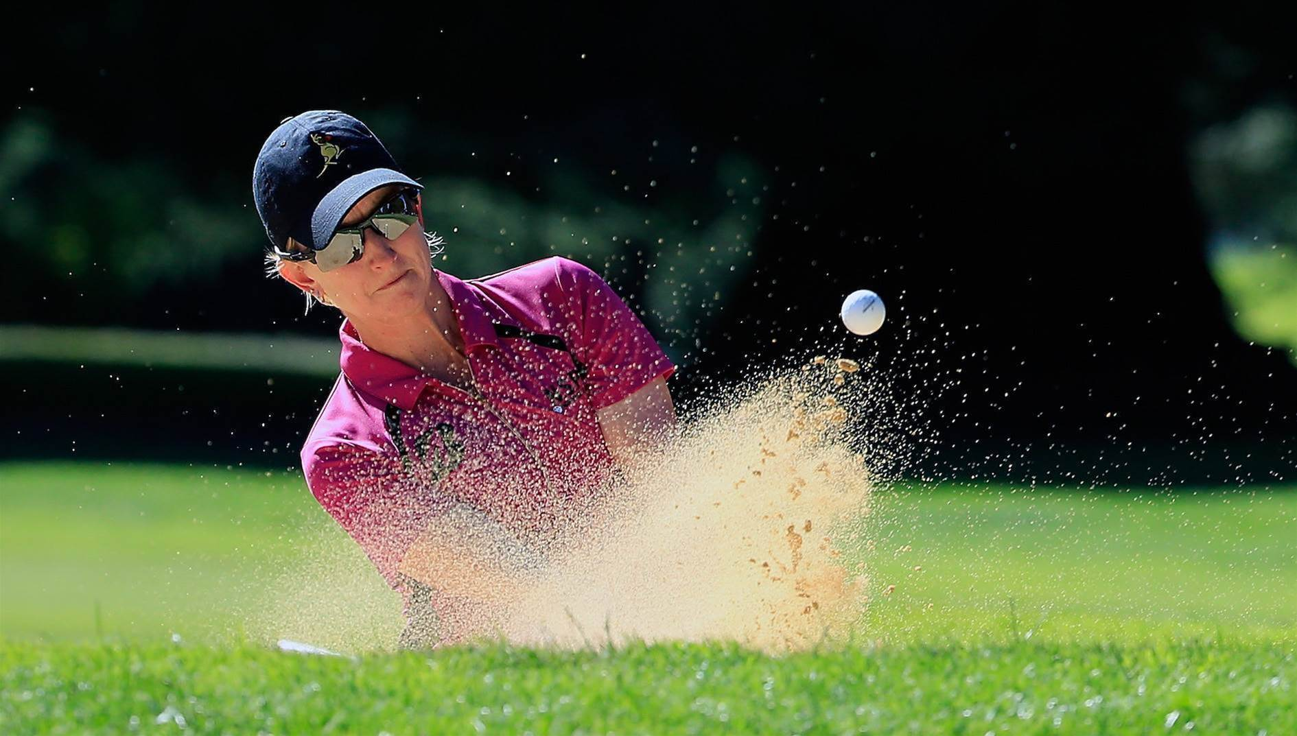 "WOMEN'S OPEN: Webb says, ""I'm here to win"""