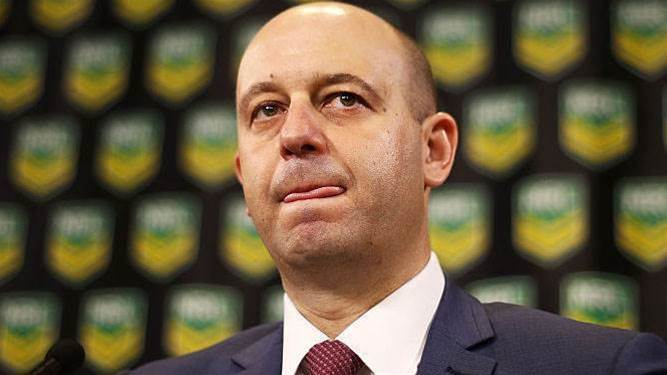 NRL boss: Barba's a big risk for clubs