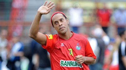 Ronaldinho rejects Wolves