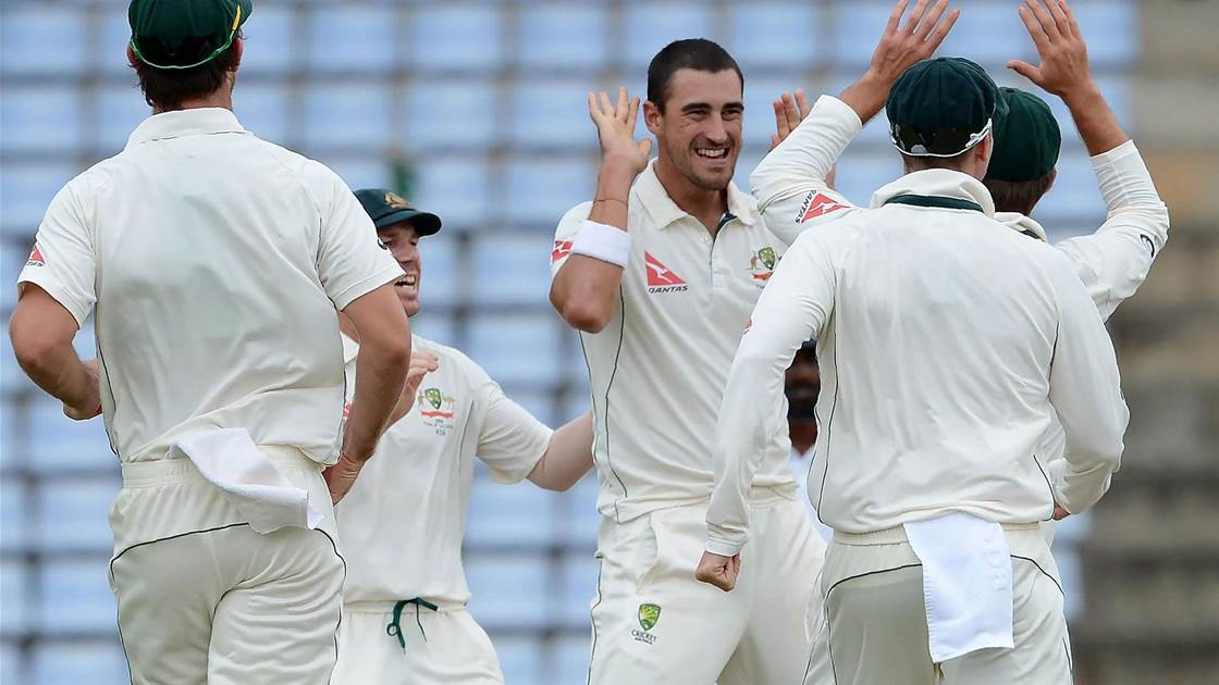 Starc's on fire
