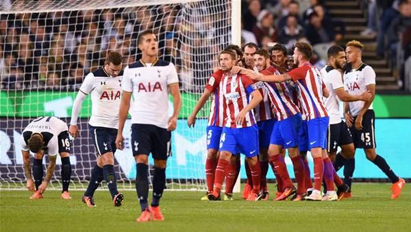 Spurs Godin home winless