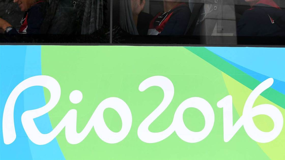 Olympic bus under attack