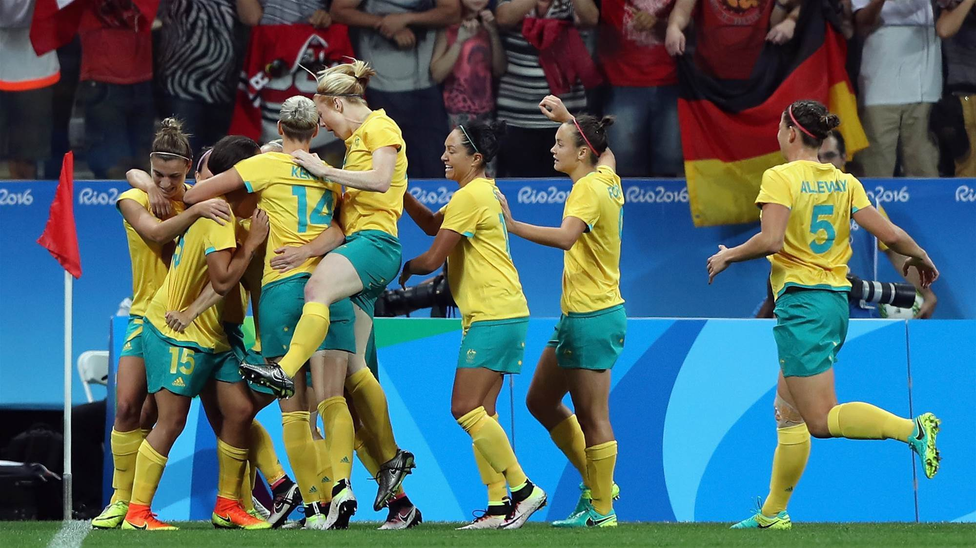 Matildas edge up world rankings