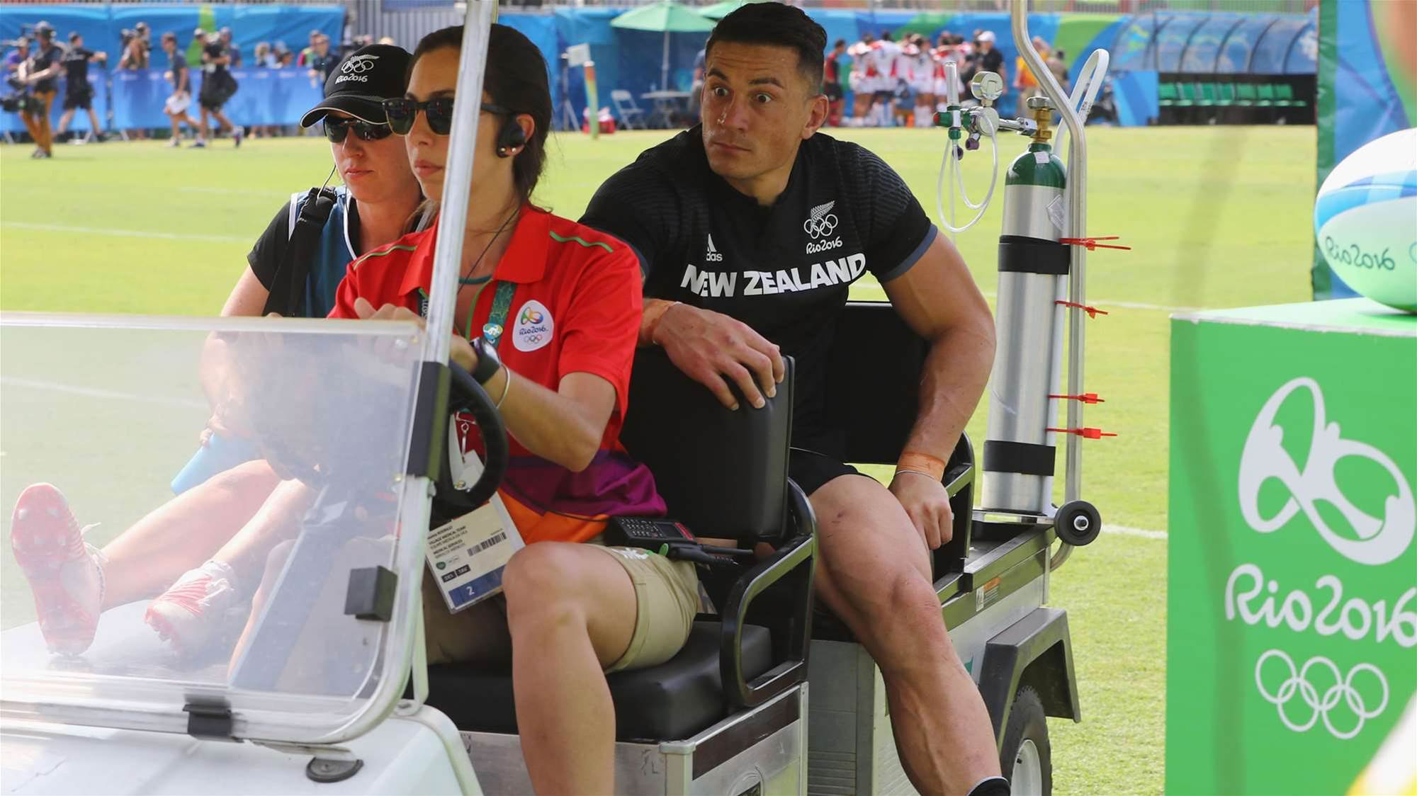 SBW out of Olympics