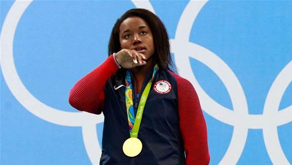 Gold medallist talks police brutality