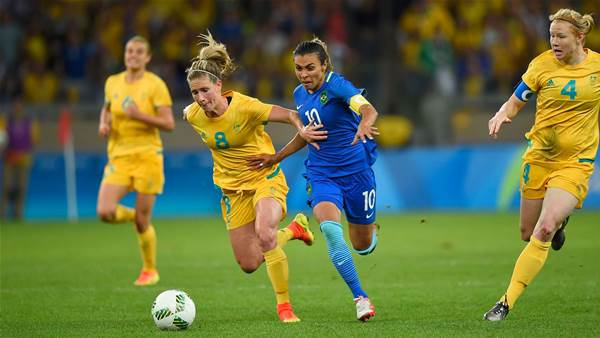 Matildas' loss: Twitter reacts