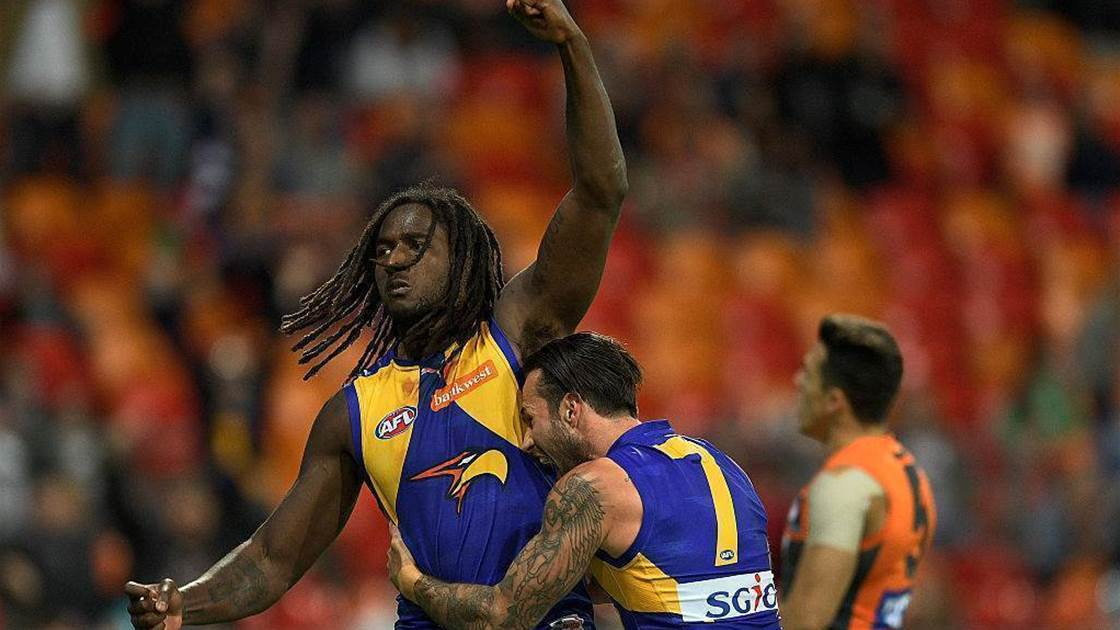 Naitanui unlikely to return in 2017