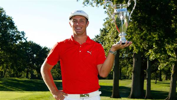 WEB TOUR: DeChambeau heading for the Big Show