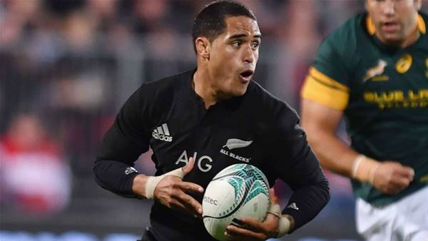 All Blacks half withdraws from Beldisloe Cup