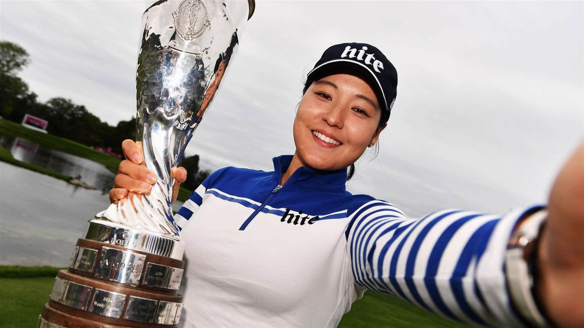 LPGA: Chun sets new major record with Evian win