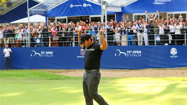 EURO TOUR: Italian joy as Molinari wins home Open