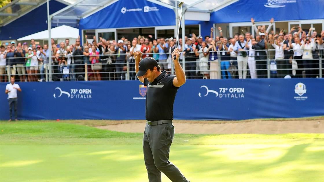 EURO TOUR: Italian joy as Molinari wins home Open