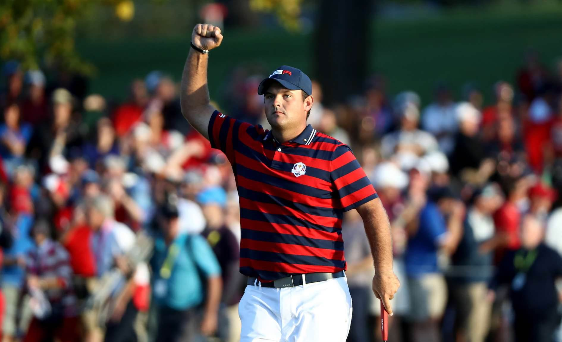 RYDER CUP: Reed inspires U.S to lead rattled Europeans