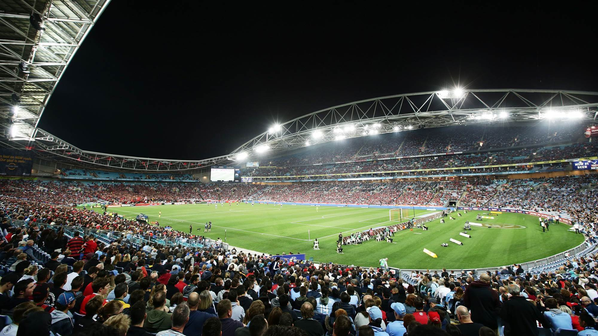 Sold-out Sydney derby a national drawcard
