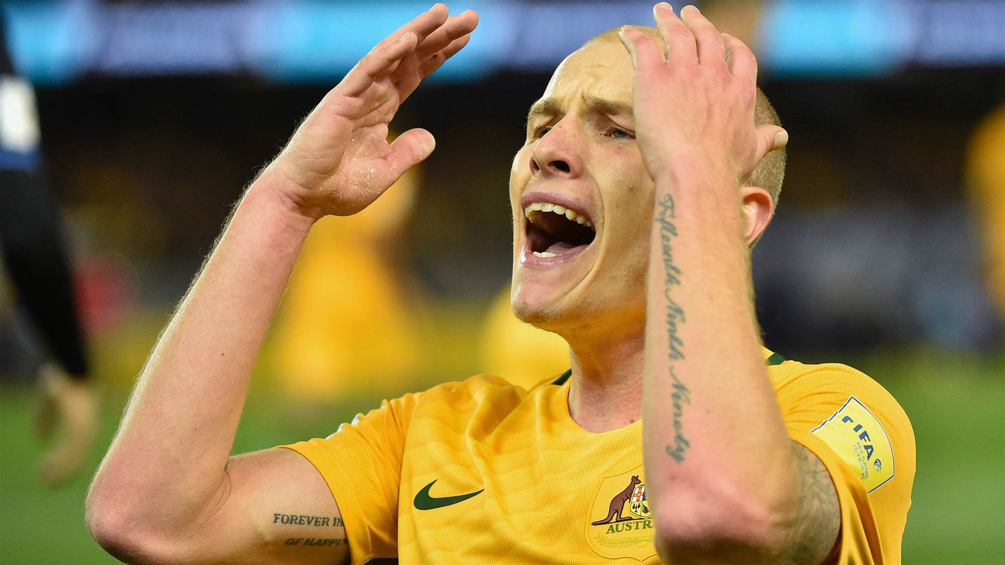 Mooy tells club: It's not easy being green...and gold