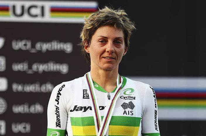 Garfoot claims another World Champs medal for Australia