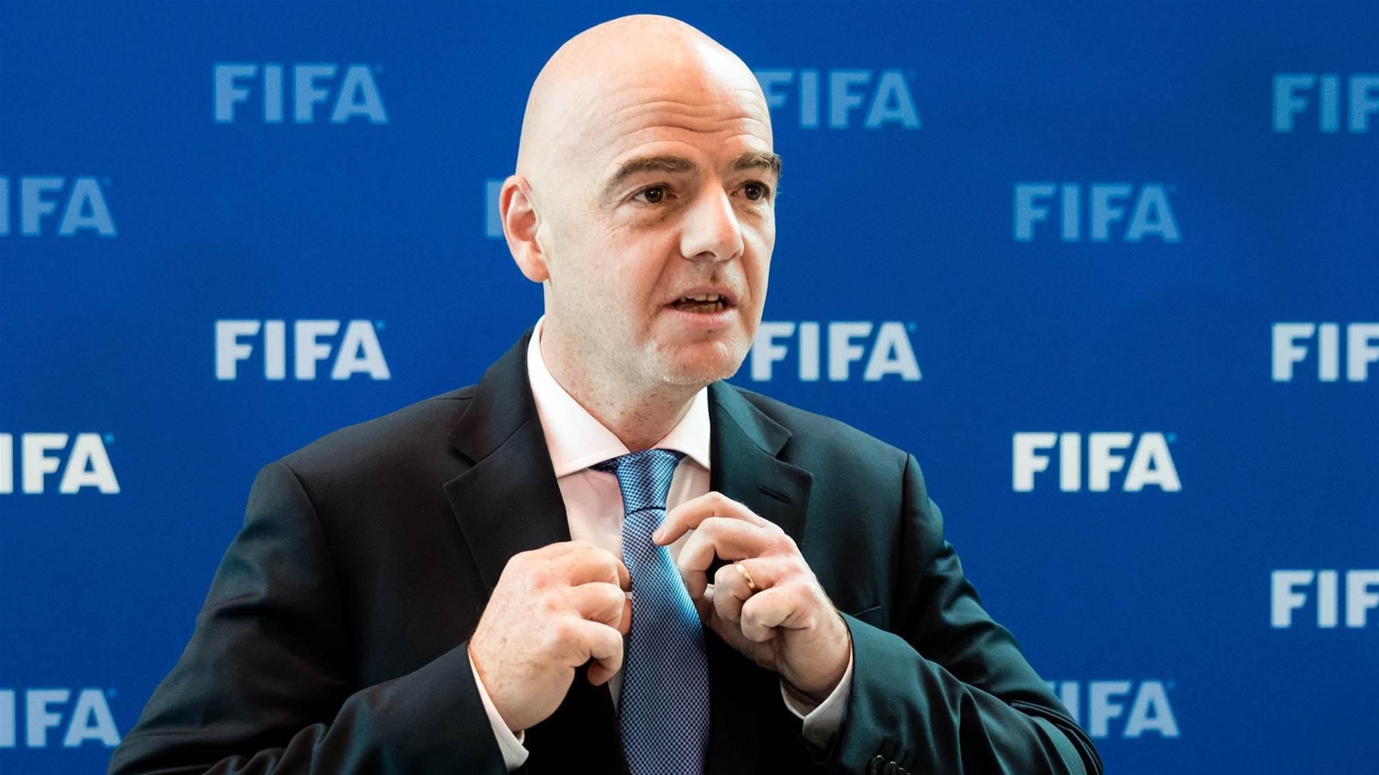 FIFA president postpones Aussie visit