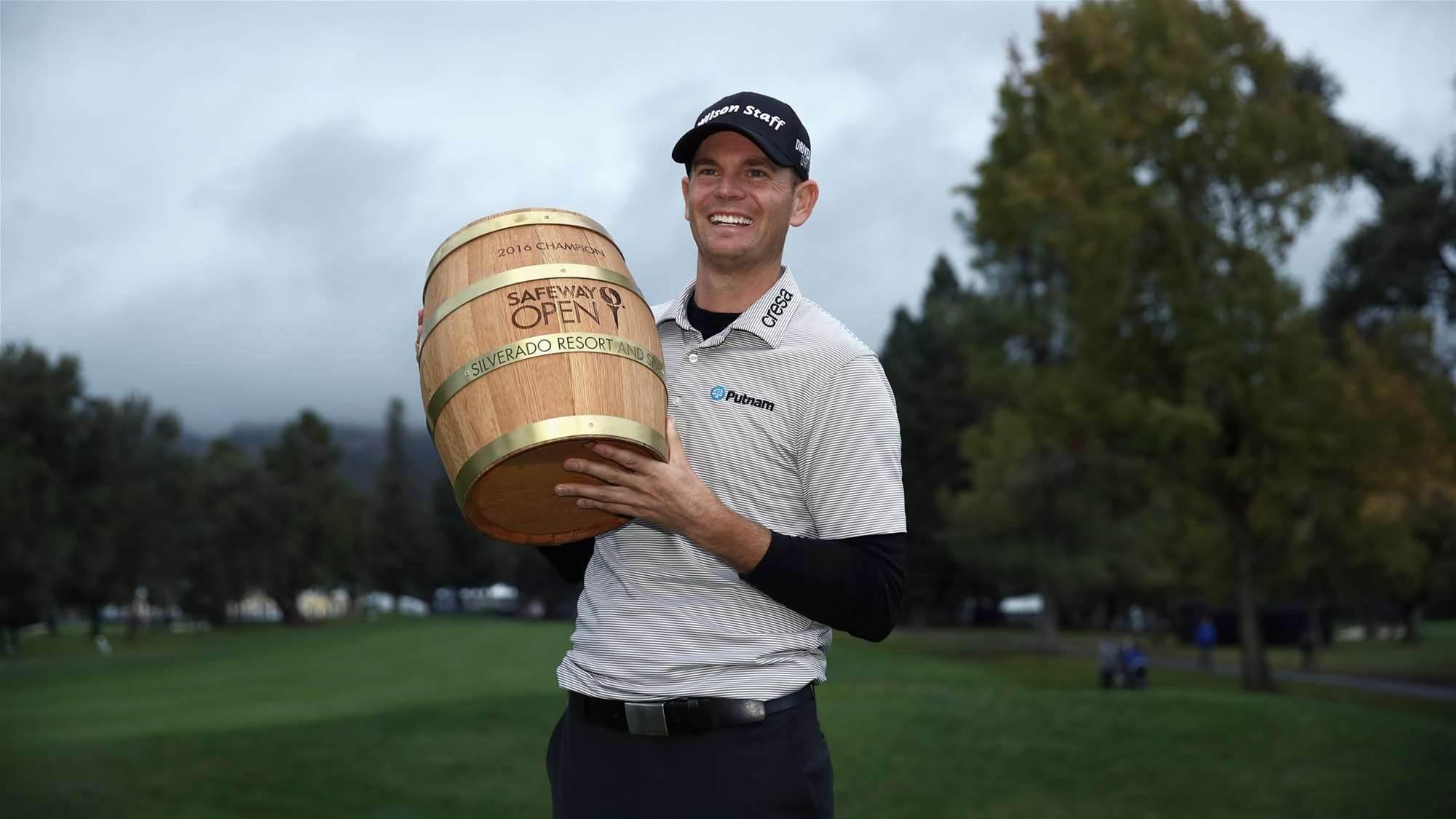 PGA TOUR: Soaked Steele steals Safeway with birdie blitz
