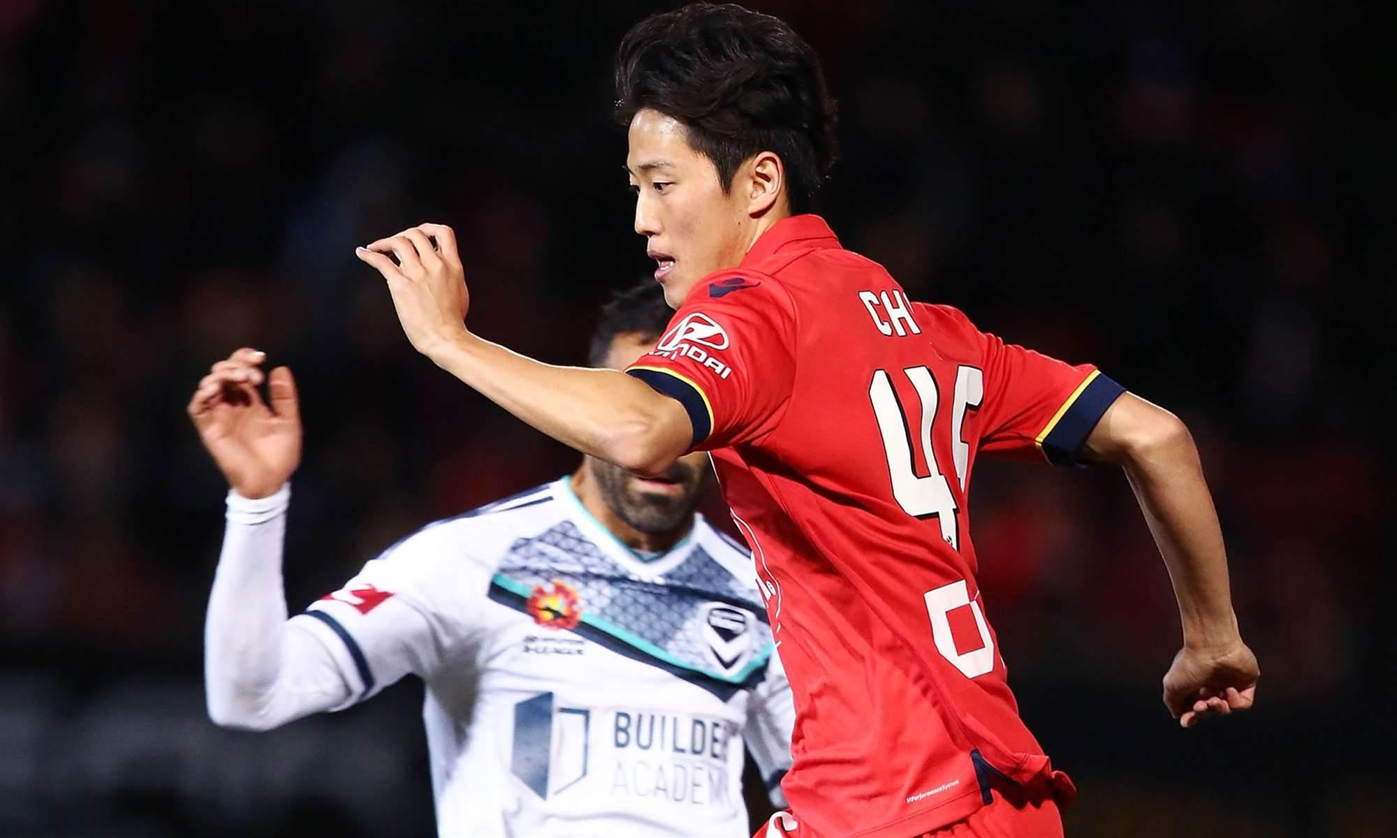 Injured Choi departs Reds