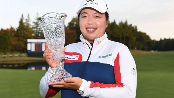 LPGA: Shanshan wins back-to-back titles