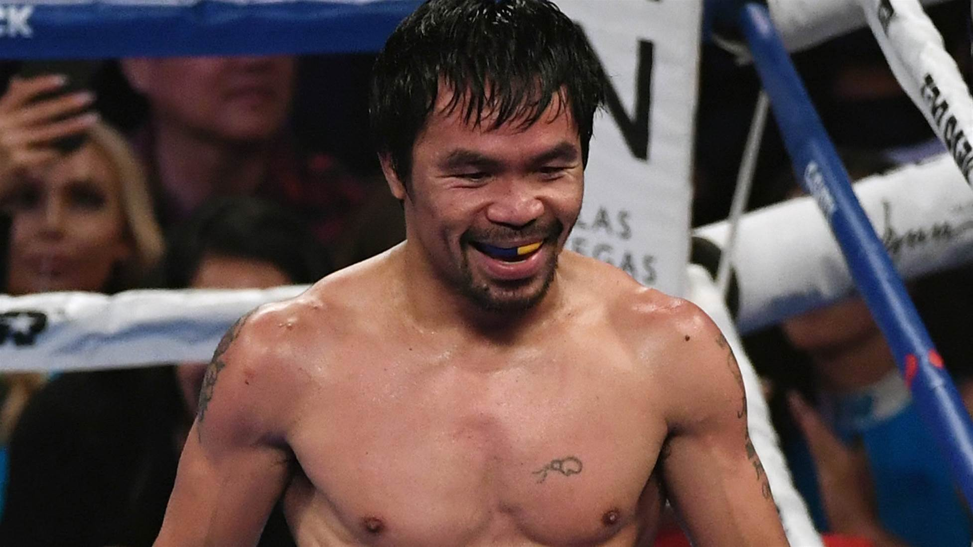 Unknown Aussie set to fight Pacquiao in front of 50,000