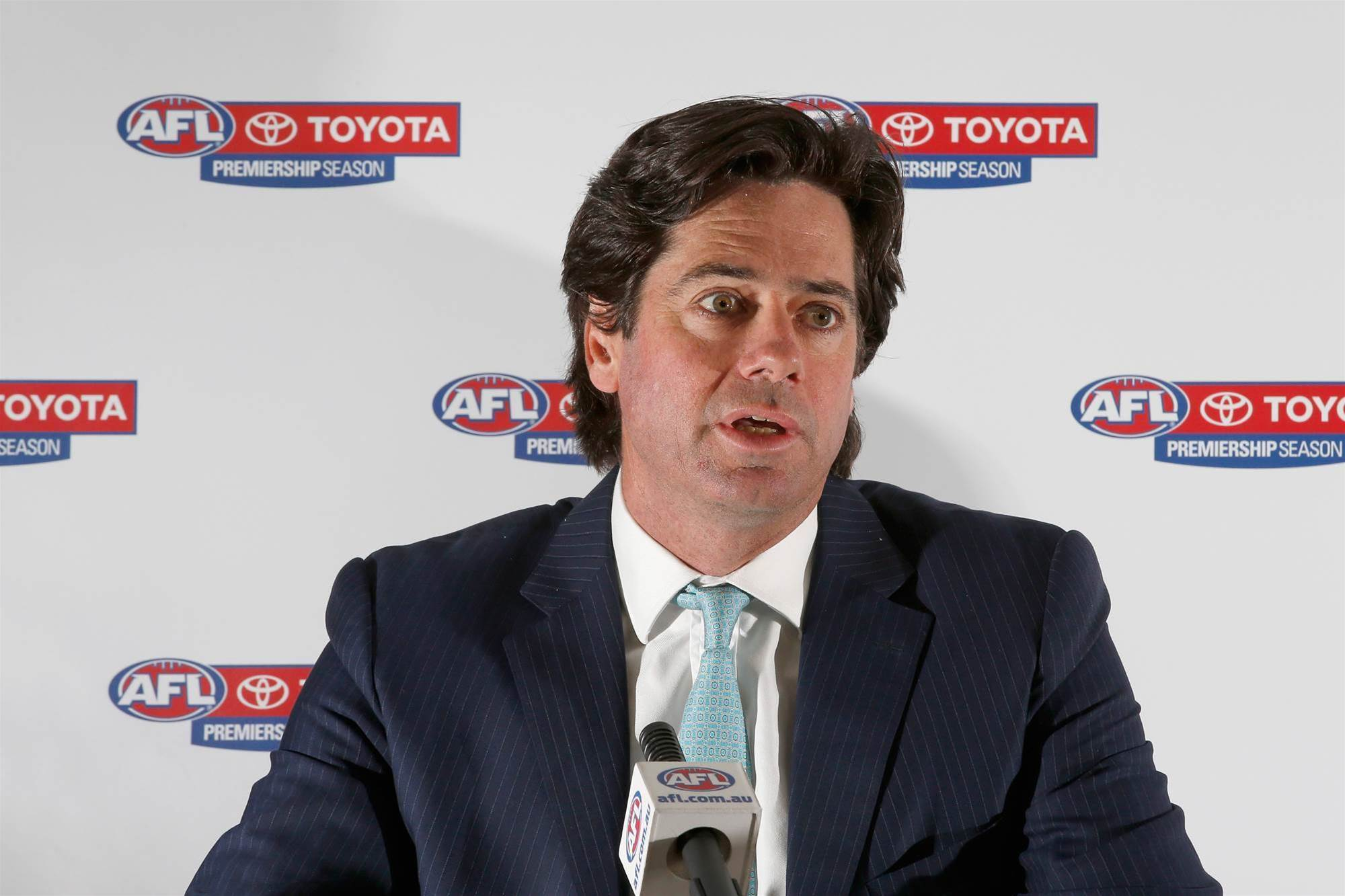 Clubs would veto AFL Origin series claims McLachlan