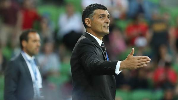 Aloisi 'sledged' by City players