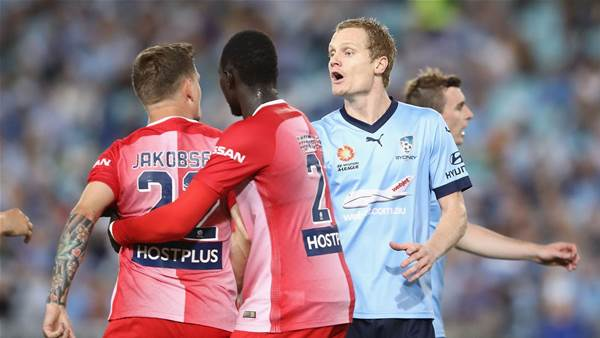 Simon cited for hit on Jakobsen