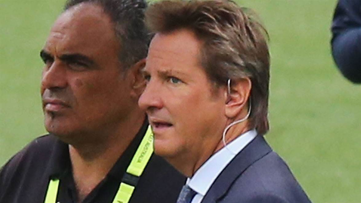 Mark Nicholas rushed to hospital again
