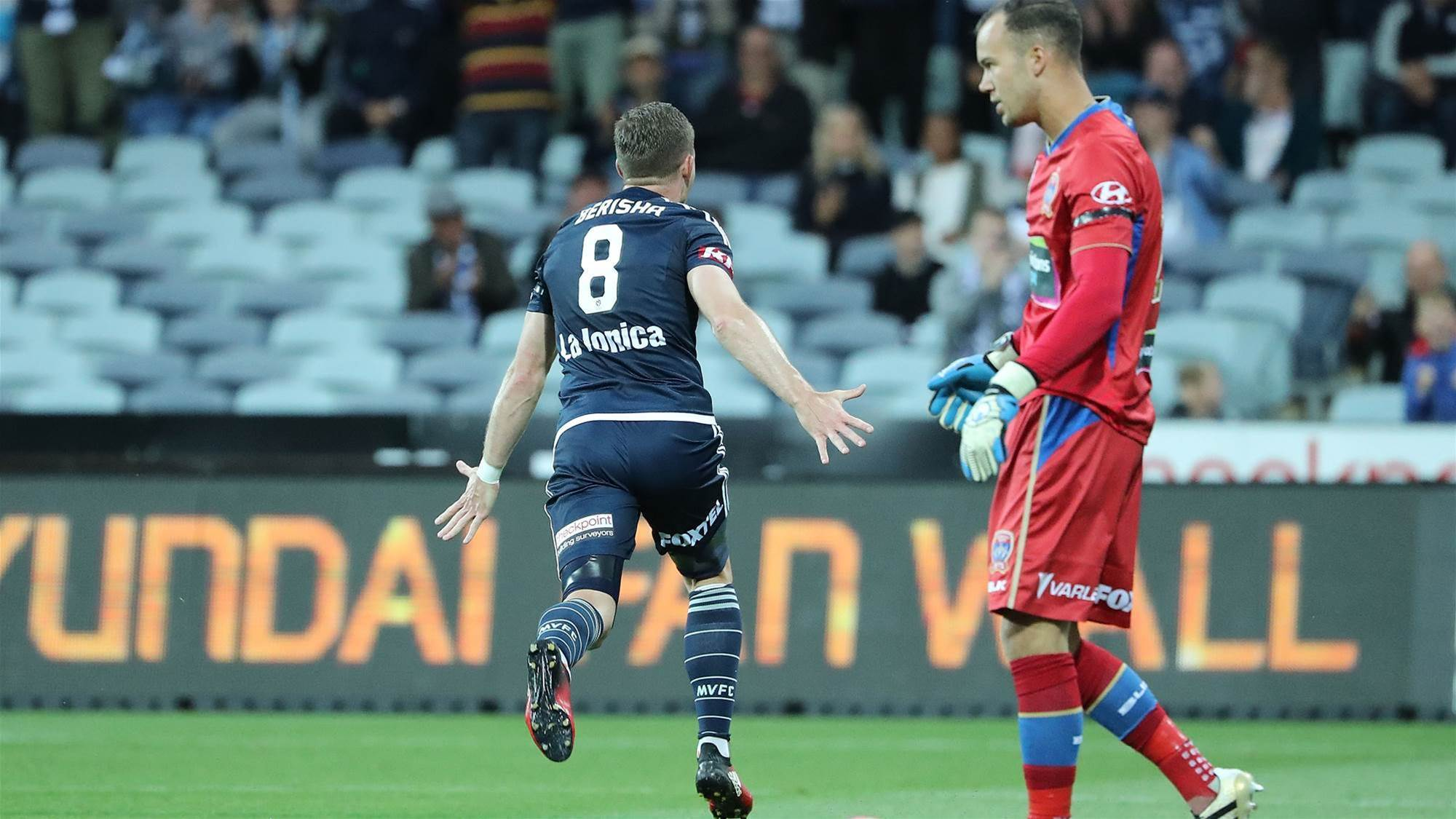 Berisha already 'thinking of next goal'