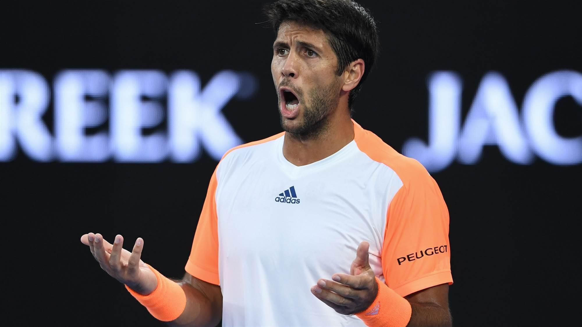 Verdasco slams court condition after loss to Djokovic