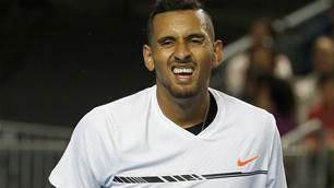 "Kyrgios not even training ""15 minutes a day"""